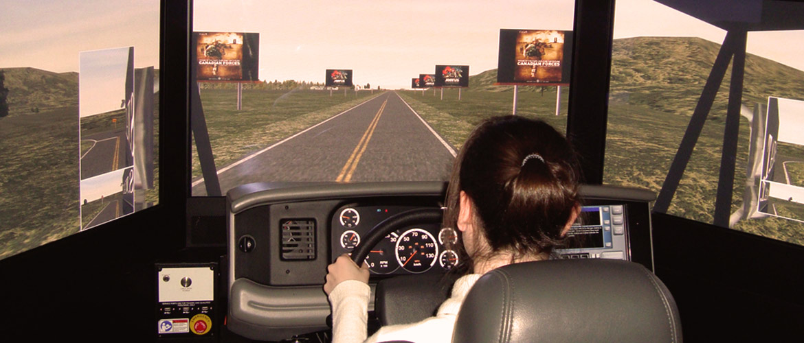 Anti-Texting Driving School Program in London, ON - The Driving Simulator for drivers education at DriveWise London