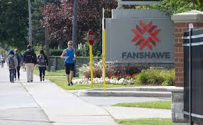 Driving lessons at Fanshawe College in London ON